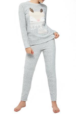 Pajamas MOODO. Цвет: grey