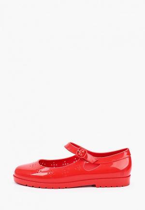 Туфли Melissa. Цвет: красный