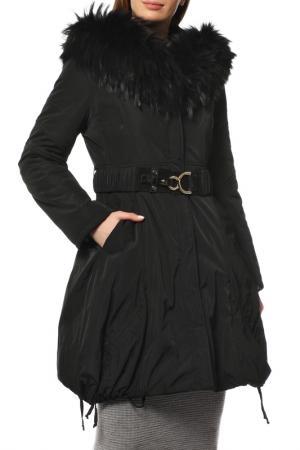 Пальто MAZZI. Цвет: черный