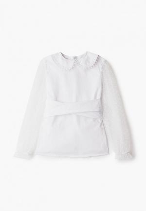 Блуза Fridaymonday. Цвет: белый