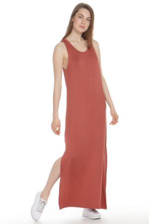Платье DOUBLE ZERO. Цвет: brick