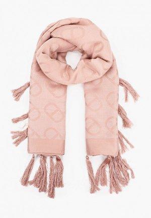 Платок Twinset Milano. Цвет: розовый