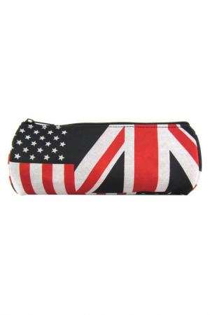 Пенал British Flag CREATIVE. Цвет: черный