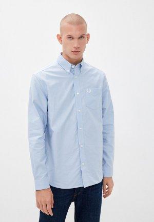 Рубашка Fred Perry. Цвет: голубой