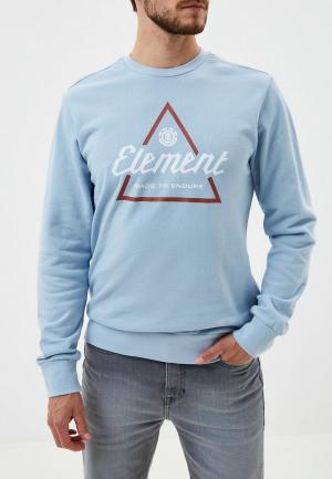 Свитшот Element. Цвет: голубой
