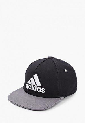 Бейсболка adidas. Цвет: черный