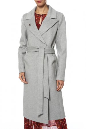 Пальто Анора. Цвет: светло-серый