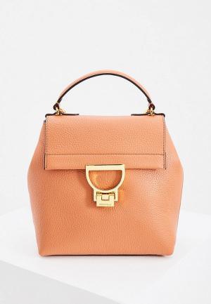 Рюкзак Coccinelle. Цвет: коричневый