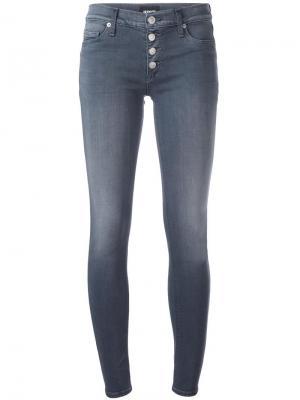 Узкие джинсы Ciara Hudson. Цвет: серый