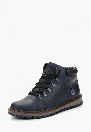 Ботинки iD! Collection. Цвет: синий