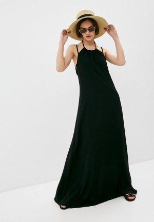 Платье пляжное Trussardi. Цвет: черный