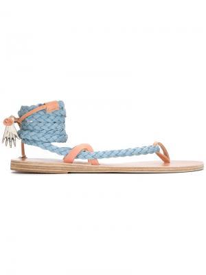 Сандалии Atropos Ancient Greek Sandals. Цвет: синий