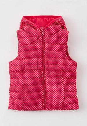 Жилет утепленный OVS. Цвет: розовый
