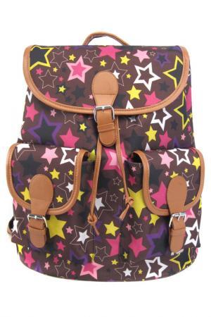 Рюкзак Звездопад CREATIVE. Цвет: розовый