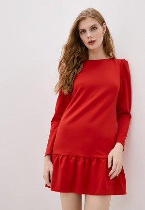 Платье Marco Bologna. Цвет: красный