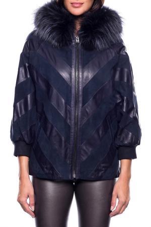 Jacket JOHN & YOKO. Цвет: dark blue