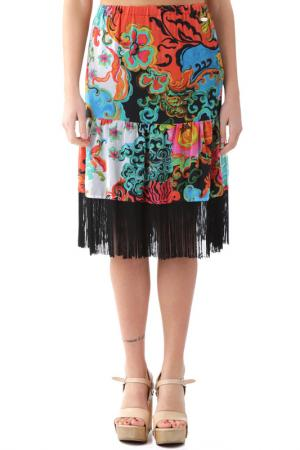 Skirt FORNARINA. Цвет: мультицвет