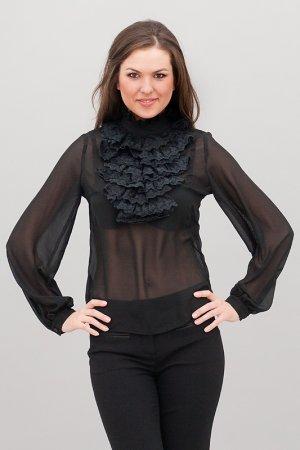 Блузка Levall. Цвет: черный