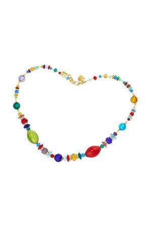 Ожерелье ZECCHIN VENICE. Цвет: красный