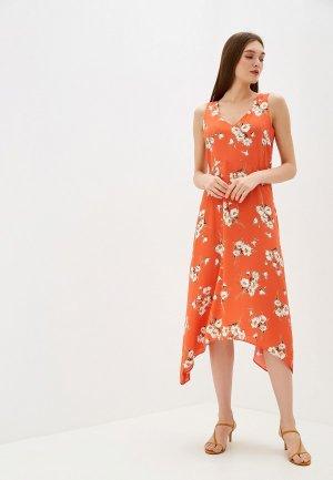 Платье Wallis. Цвет: оранжевый
