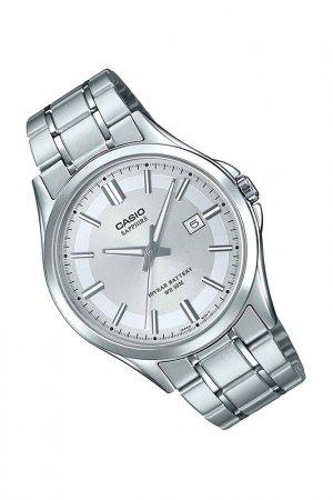 Наручные часы CASIO. Цвет: серебристый