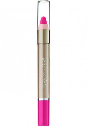 Карандаш-воск для губ PlayOn Lip Crayon, оттенок Charming jane iredale. Цвет: бесцветный