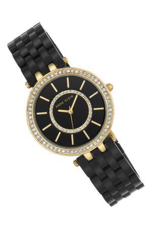 Часы наручные ANNE KLEIN. Цвет: черный