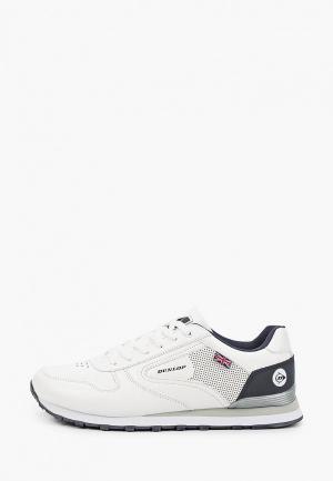 Кроссовки Dunlop. Цвет: белый