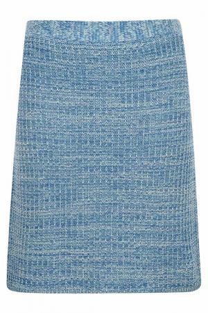 Skirt BELLFIELD. Цвет: голубой