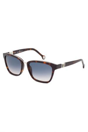 Солнцезащитные очки CAROLINA HERRERA. Цвет: черепаховый
