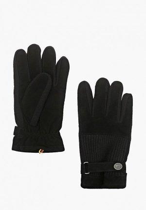 Перчатки Timberland. Цвет: черный
