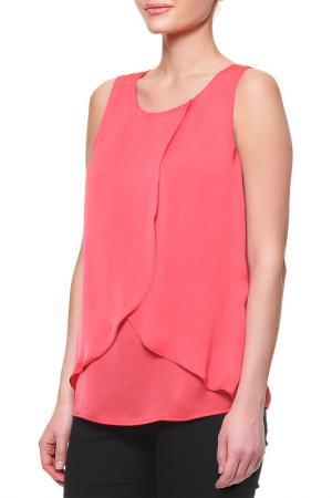 Блузка La Reine Blanche. Цвет: красный