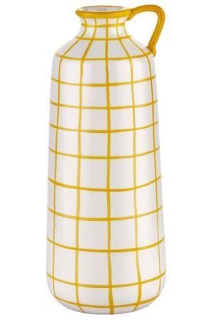 Ваза декоративная MIA. Цвет: желтый