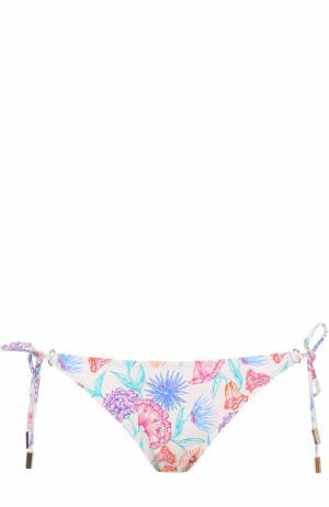 Плавки-бикини с принтом Lazul. Цвет: разноцветный