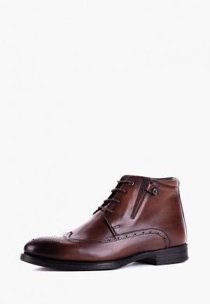 Ботинки Etor. Цвет: коричневый