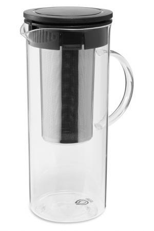 Чайник GRUS, 1,4 л, с ситечком DOSH I HOME. Цвет: прозрачный