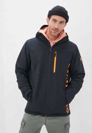 Куртка сноубордическая Quiksilver. Цвет: черный