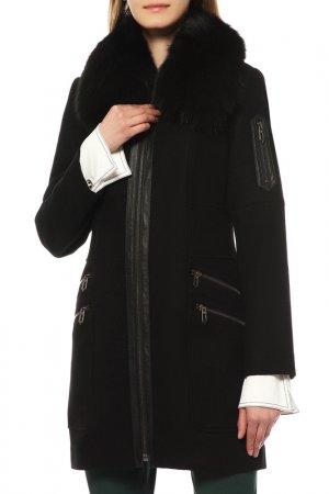 Пальто FAITH CONNEXION. Цвет: черный