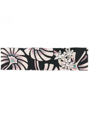 Ободок для волос Portofino Ca&Lou. Цвет: чёрный