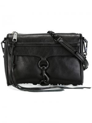 Большая сумка через плечо Rebecca Minkoff. Цвет: чёрный