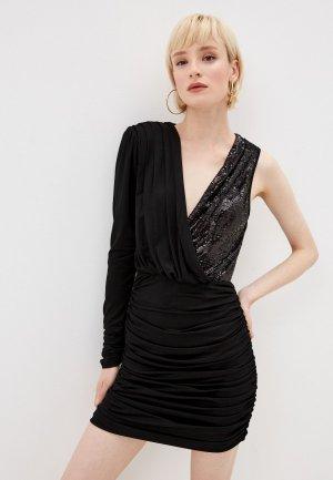 Платье Elisabetta Franchi. Цвет: черный
