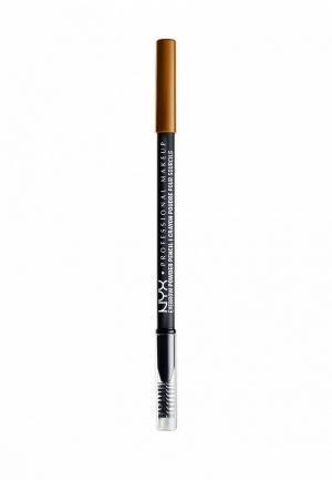Карандаш для бровей Nyx Professional Makeup. Цвет: оранжевый