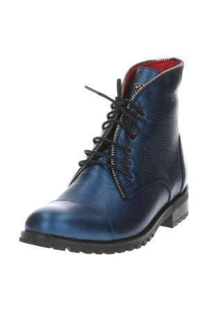 Ботинки BARCELO BIAGI. Цвет: синий