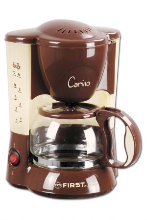 Кофеварка FIRST. Цвет: коричневый