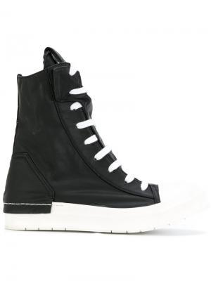 Спортивные ботинки на молнии сбоку Cinzia Araia. Цвет: чёрный