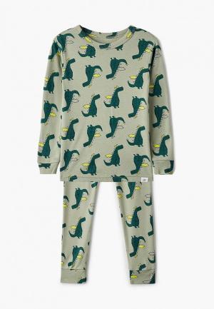 Пижама Gap. Цвет: зеленый
