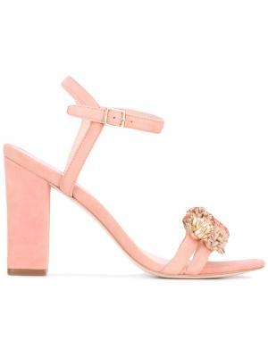 Босоножки Layla Loeffler Randall. Цвет: розовый и фиолетовый