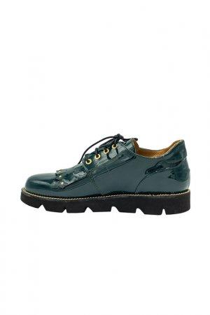 Туфли GIOVANNI FABIANI. Цвет: изумрудный