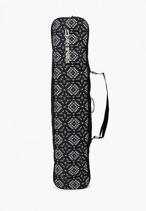 Чехол для сноуборда Dakine. Цвет: черный