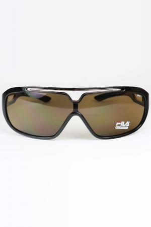 Очки солнцезащитные FILA. Цвет: черный
